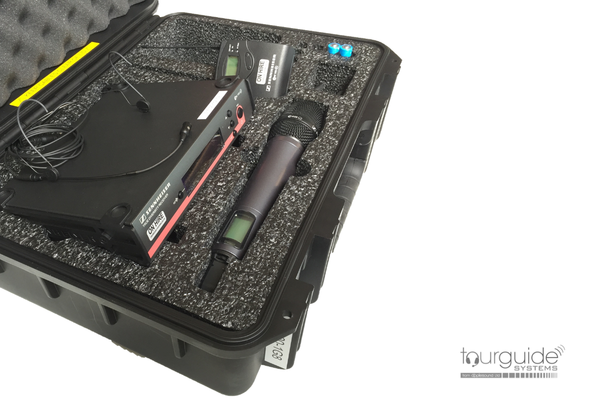 SENNHEISER G3/1G8 RADIO MIC HIRE PACKAGE