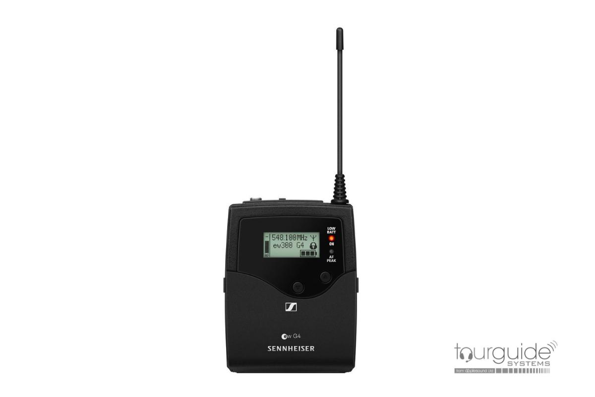 Sennheiser UHF 1039 tourguide range