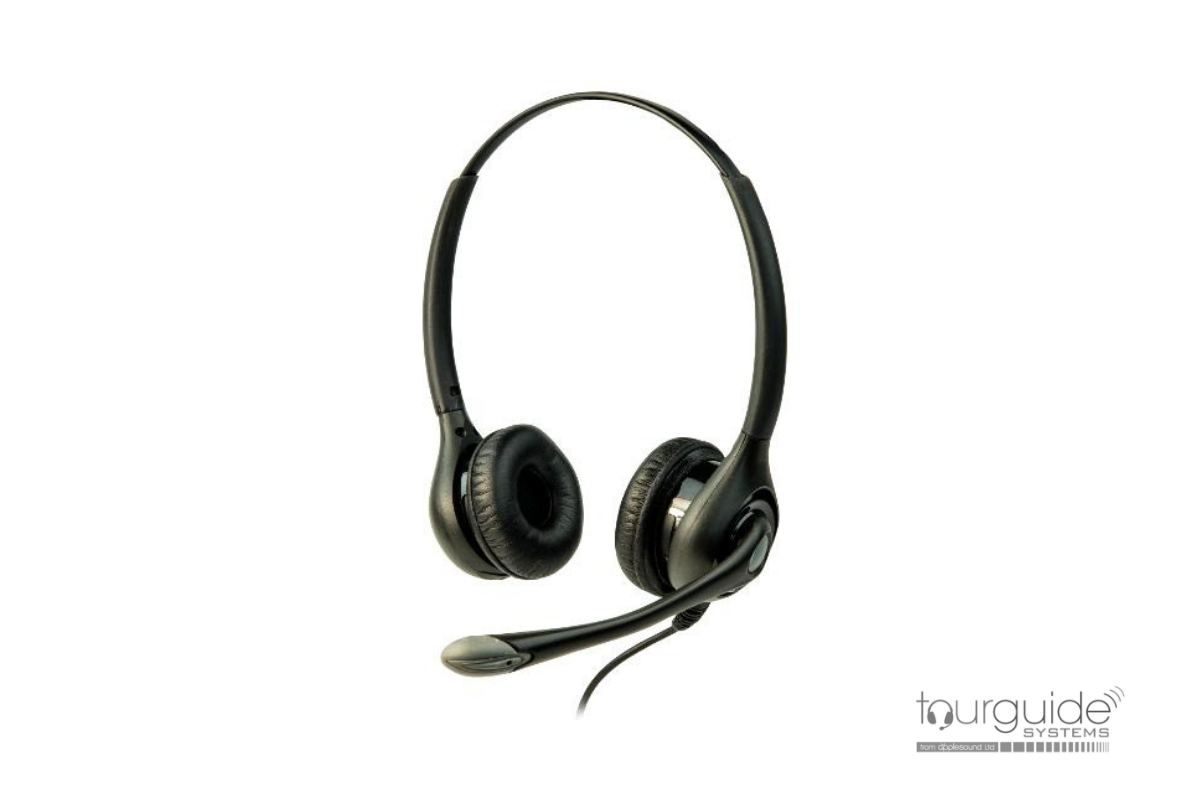 ListenTALK Headset 3 - Over Head Dual w/Boom Mic (LA-453)