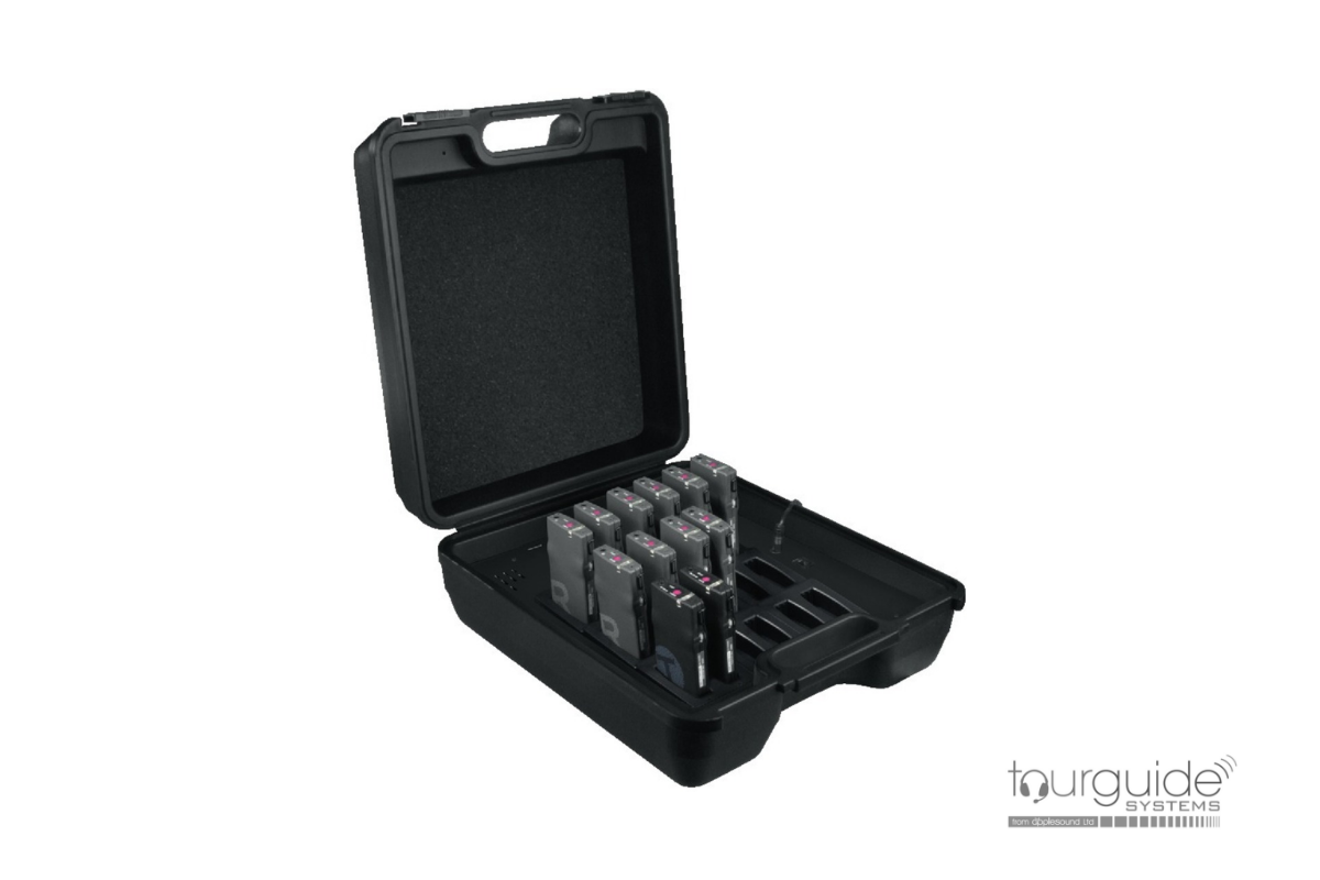 JTS TG-10CH18 18-way charger case