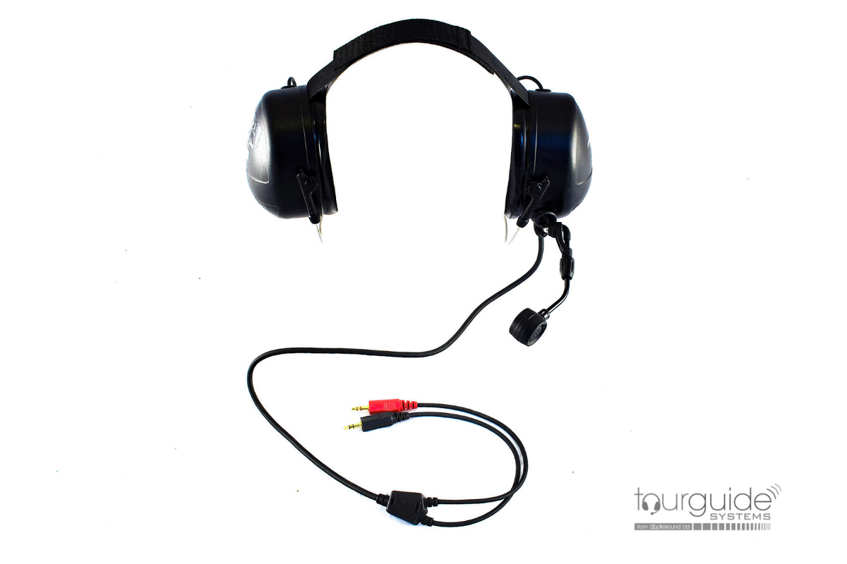 Peltor eardefender rear-wear headset/boom mic  (RENTAL)