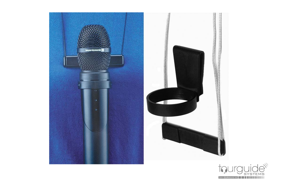 ZUV 85 lanyard mount for Unite TH hand held microphone