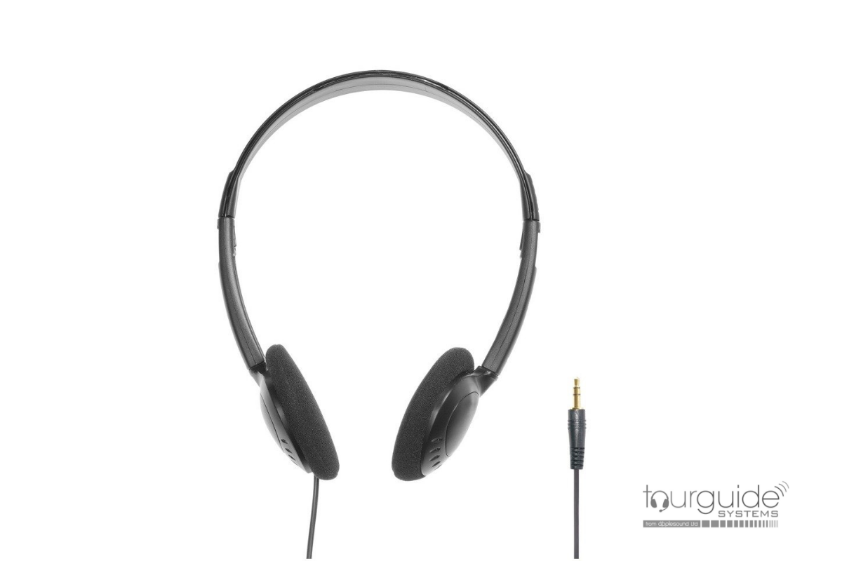 DT 2 headphone for tourguide receiver