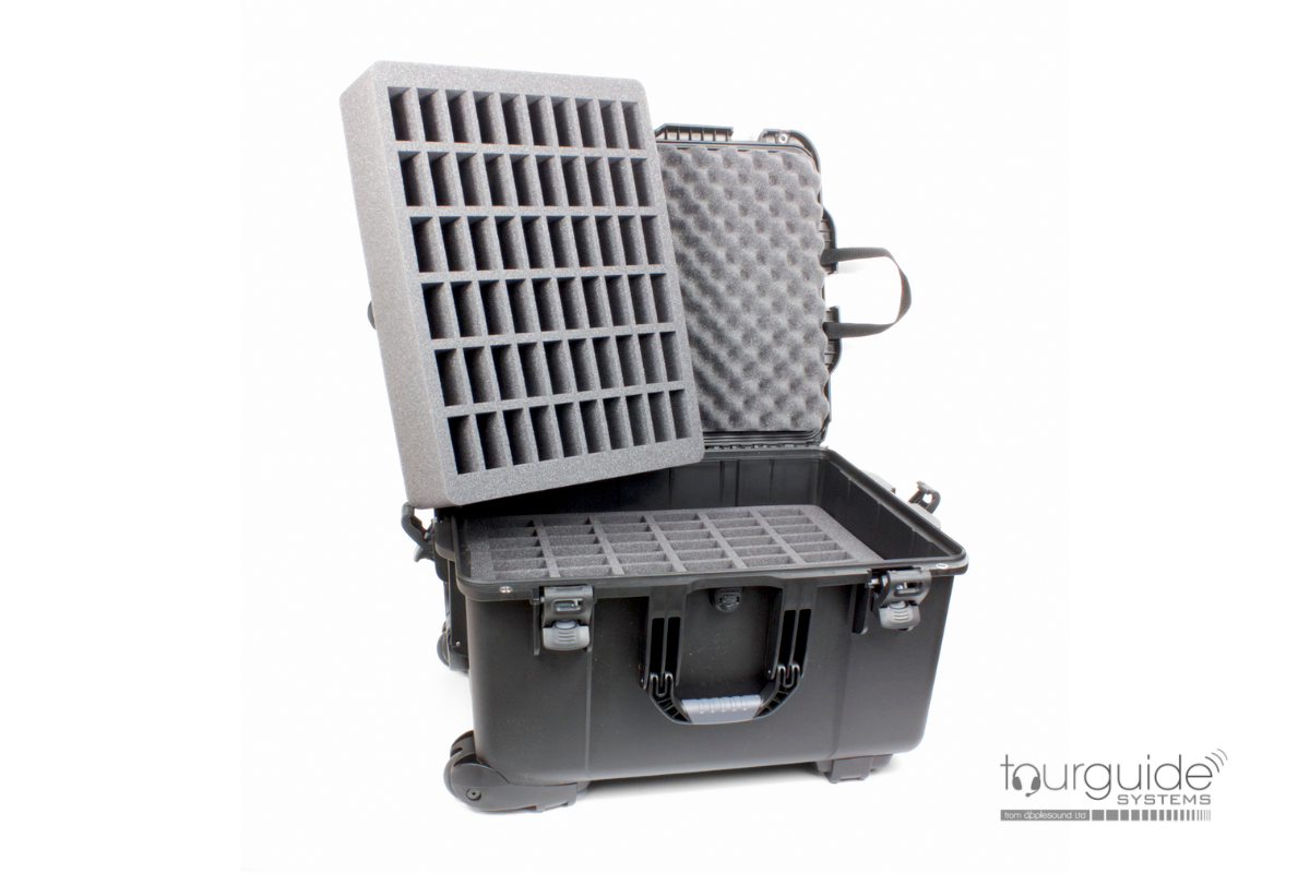 CCS 053 Large heavy duty carry case (120 slot)
