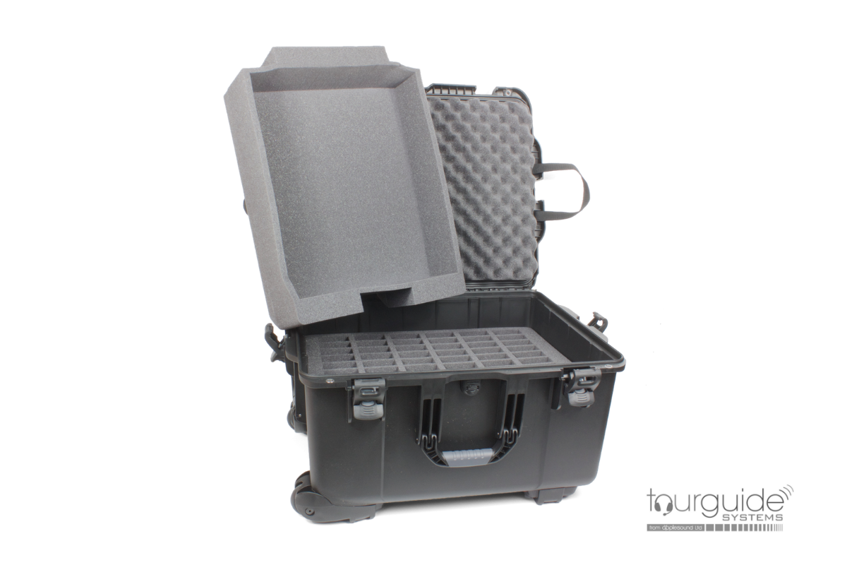 CCS 054 Large heavy duty carry case (60 slot + tray)