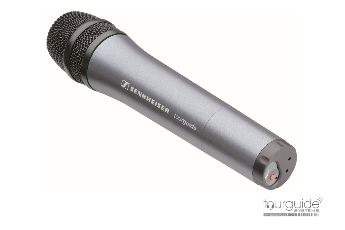 SKM 2020 D hand-held tourguide microphone