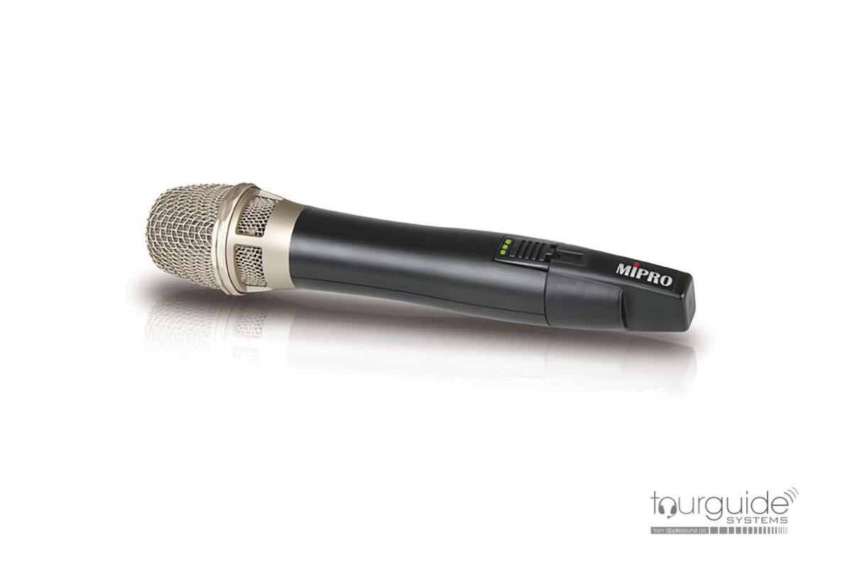 MIPRO ACT-24HC Handheld 2.4GHz Tourguide Microphone