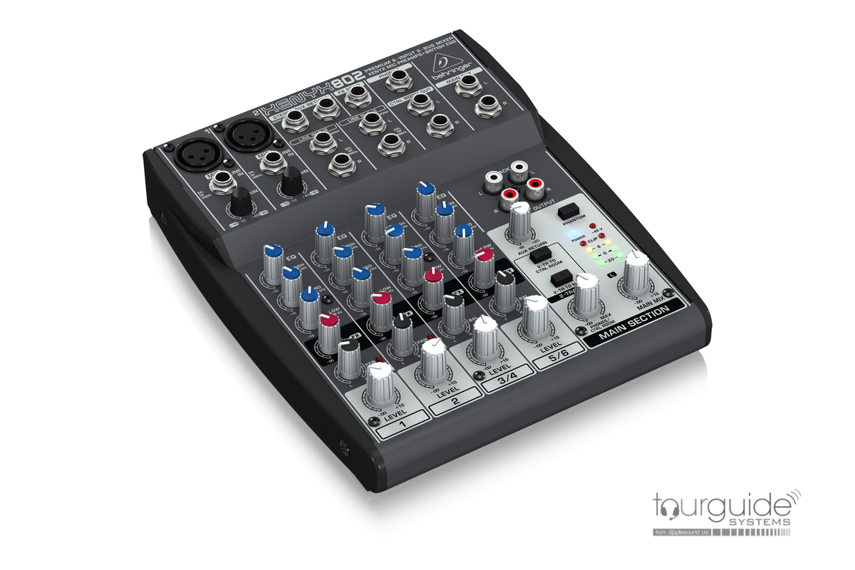Mini mixer for 2 mics and 2 laptop/audio sources == Title