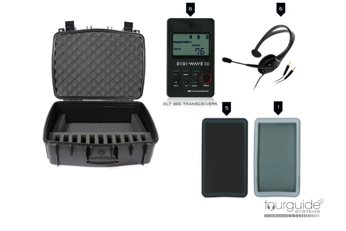 DIGI-WAVE wireless intercom system