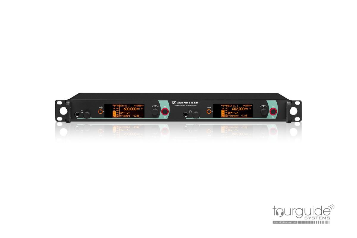 SR2050 IEM DW-X (790-865MHz) twin transmitter