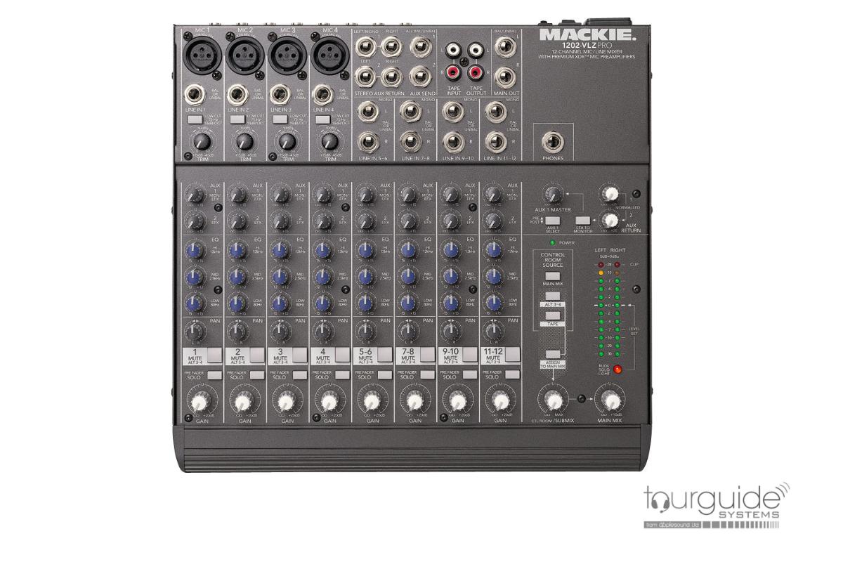 Mackie 1202 VLZ pro mixer