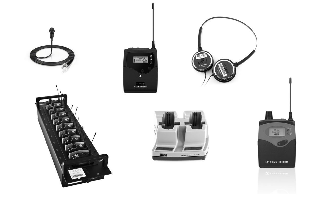 Hire Sennheiser 1039 Tour Guide System Packages