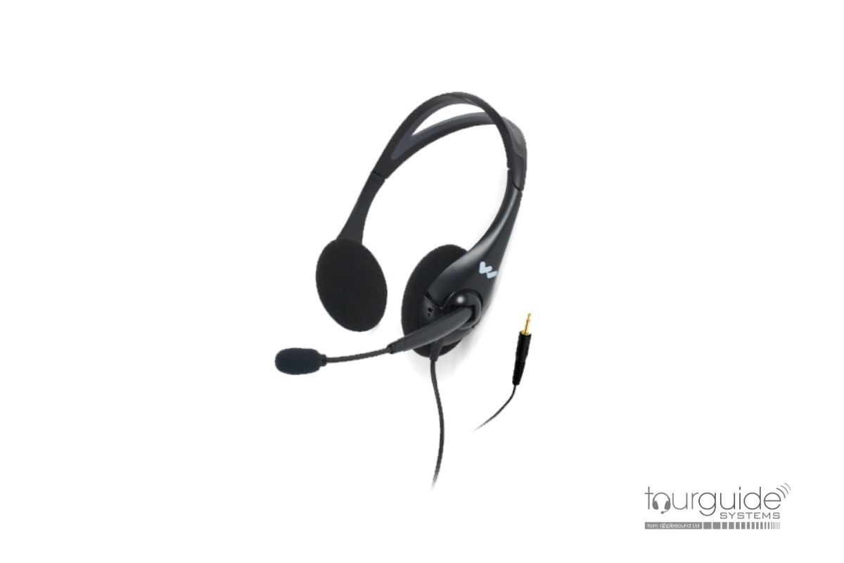 MIC 145 dual-sided headset for DLT 400