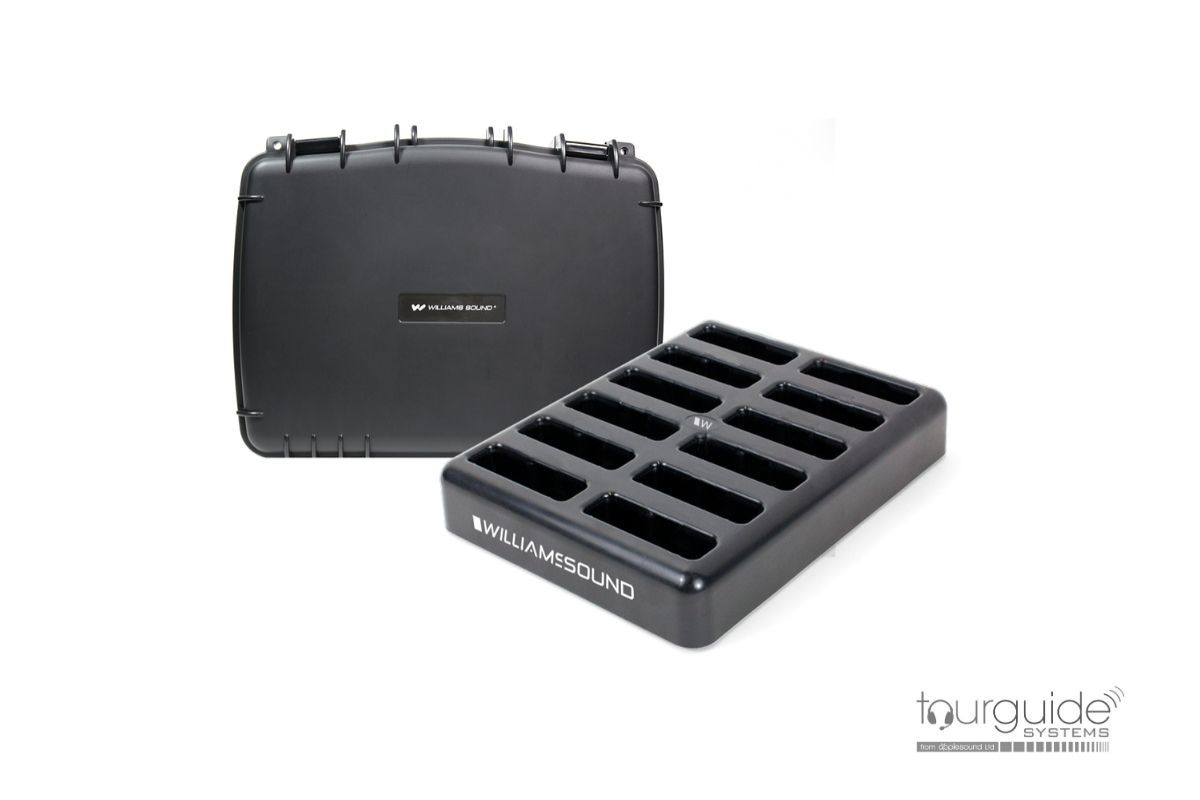 CHG 412 Pro Charger with Case (12-BAY)