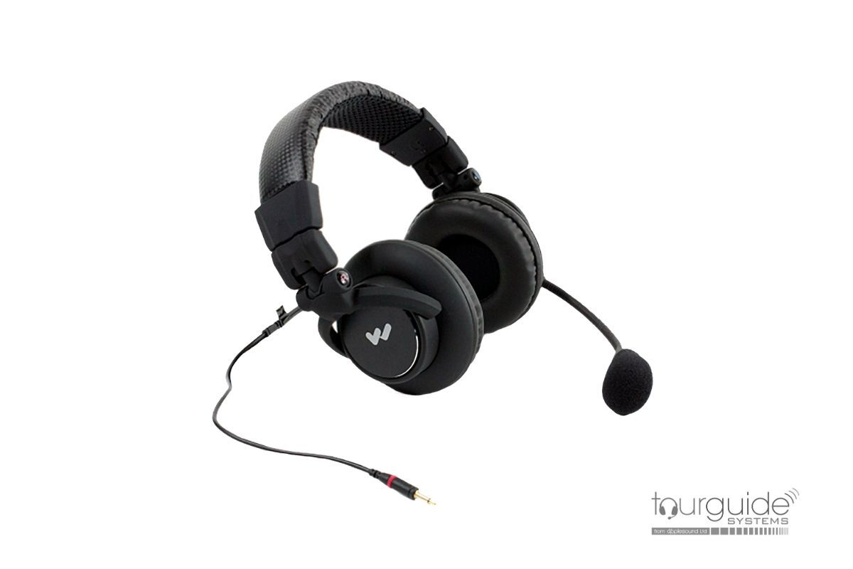 MIC 158 dual-muff headset for DLT 400