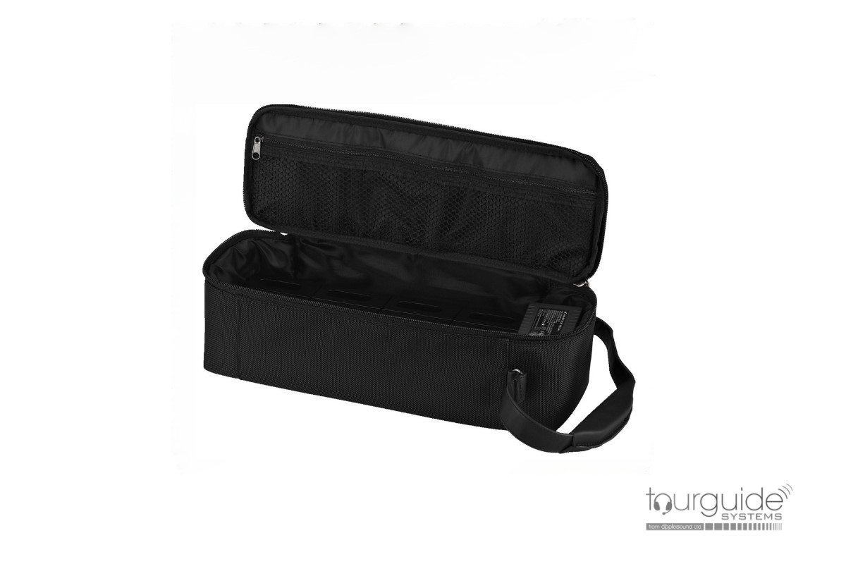 ATS-12CB Transport bag with integrated charging function for 12 devices