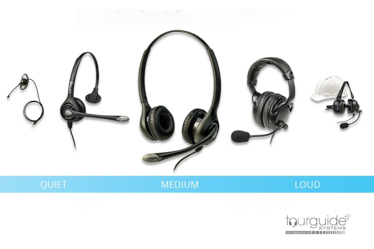 ListenTALK Transceiver (LK-1), lanyard & ear-speaker
