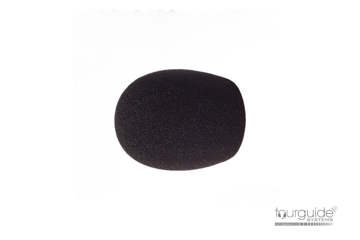 Foam windscreen for hand-held mics (35mm dia.)