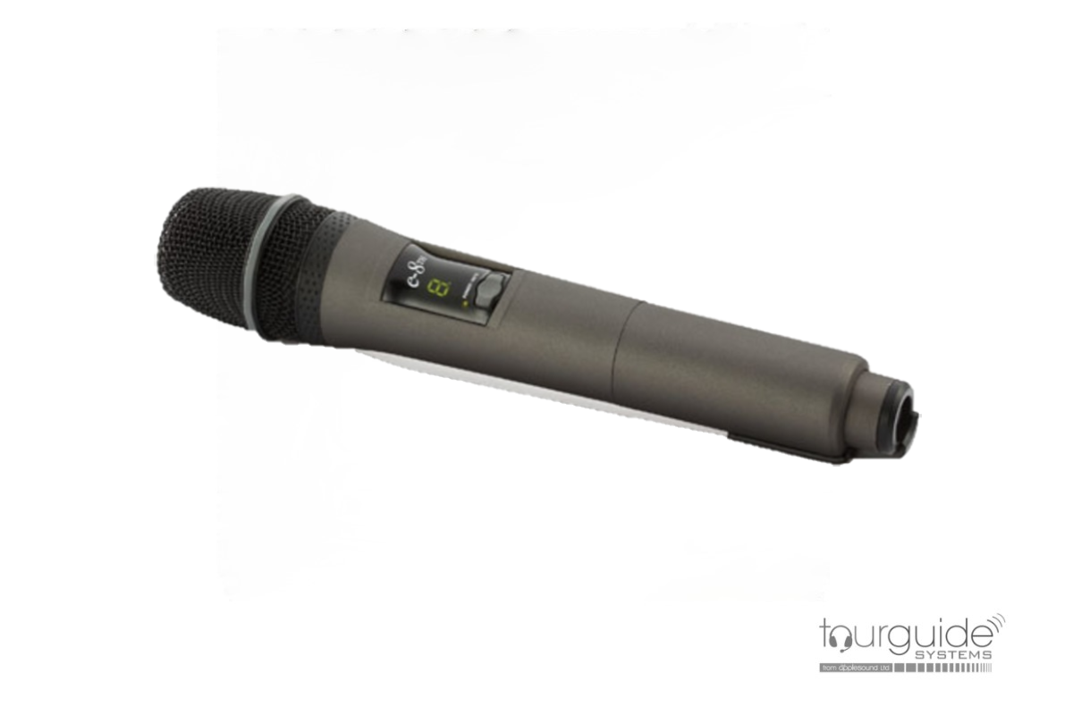 JTS e-8TH hand-held microphone transmitter