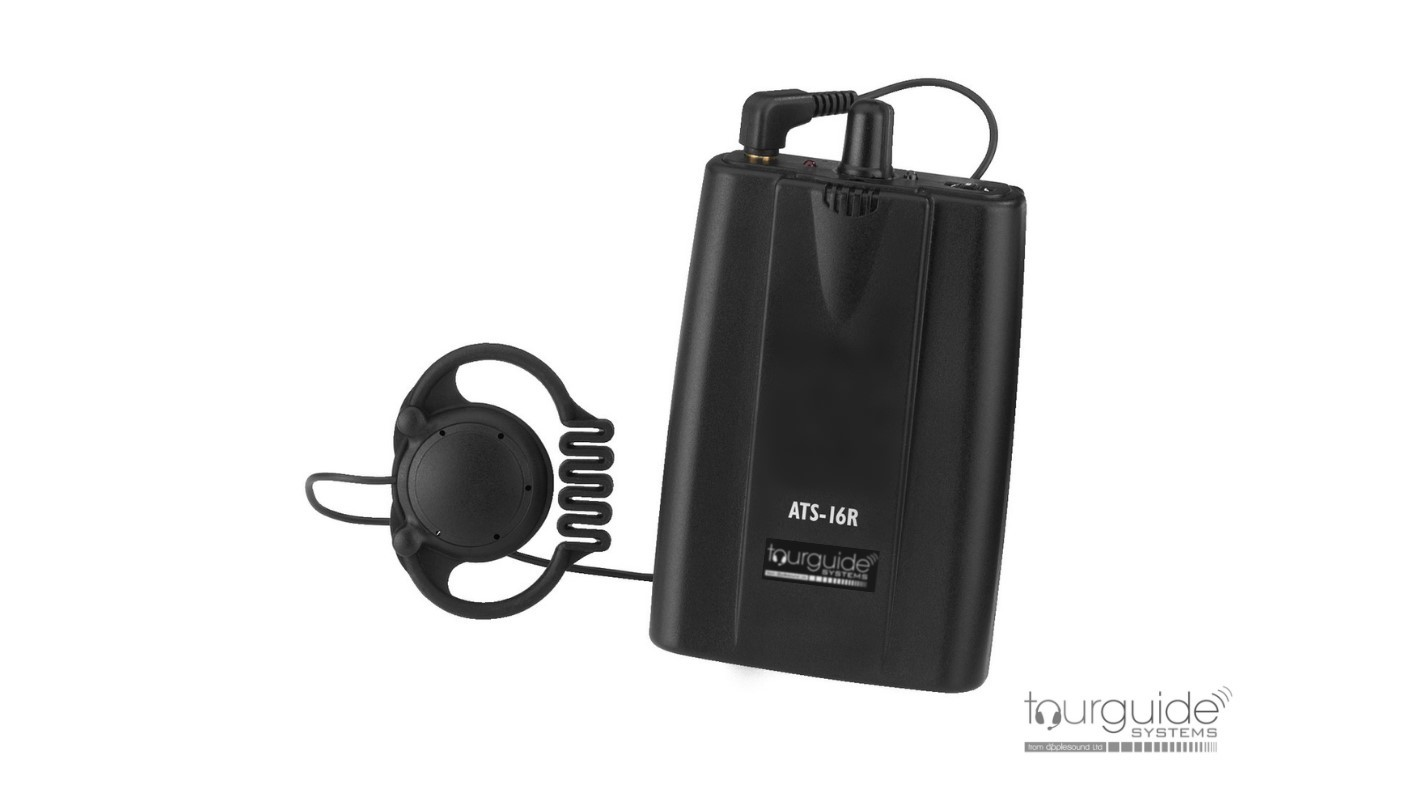 ATS-16R pocket receiver and earpiece