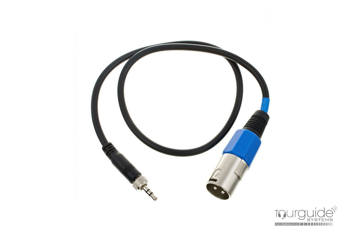 CL100 line output cable from a Sennheiser pocket receiver