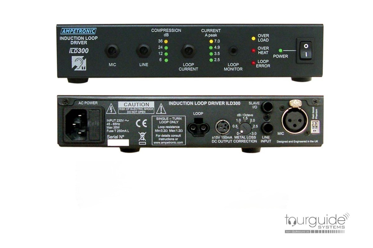 Ampetronic ILD300 induction loop amplifier