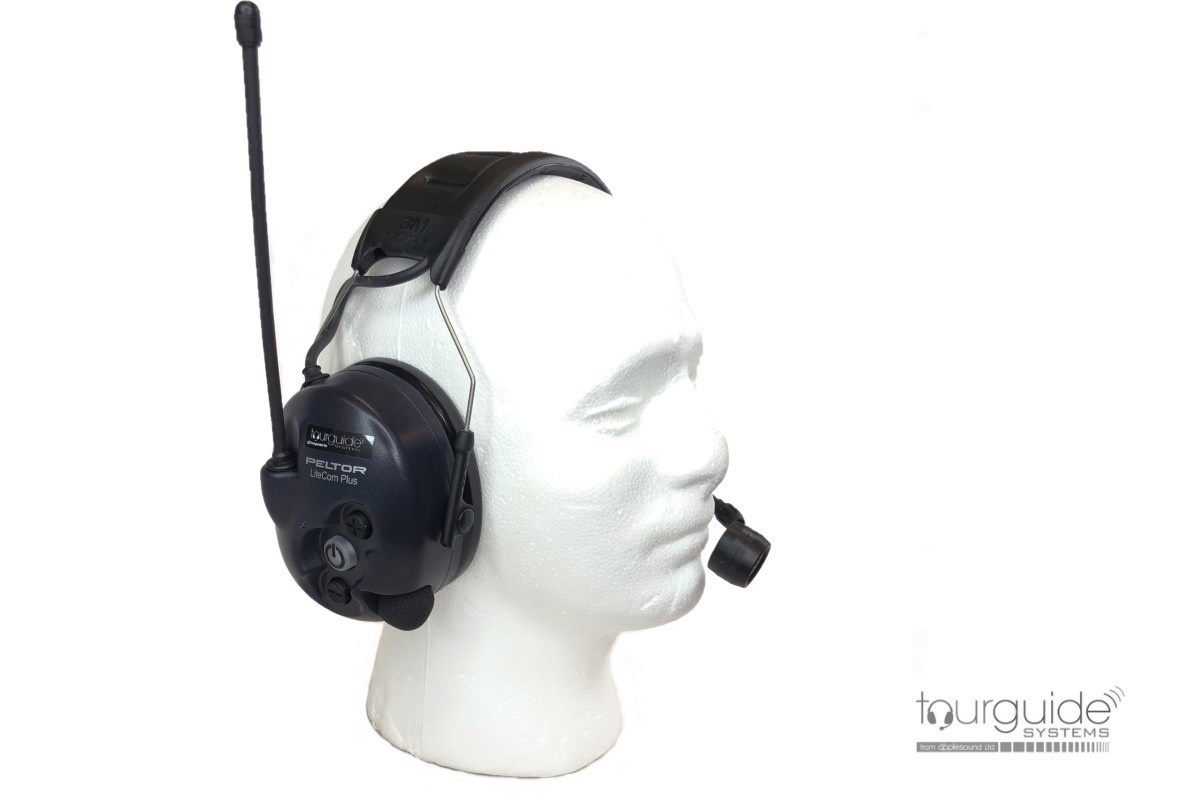 3M PELTOR WS LiteCom Plus Two-way Headset