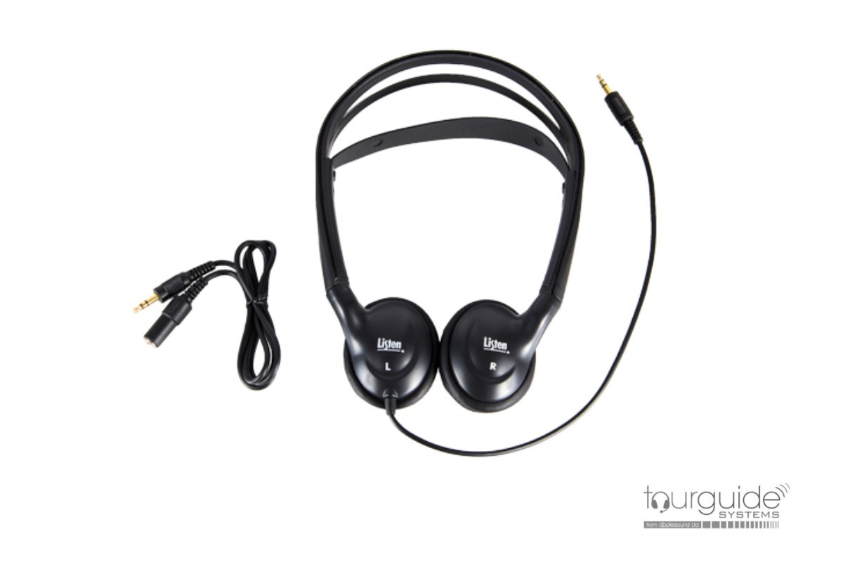 LA-172 Small Sanitary Covers for Stereo Headphones