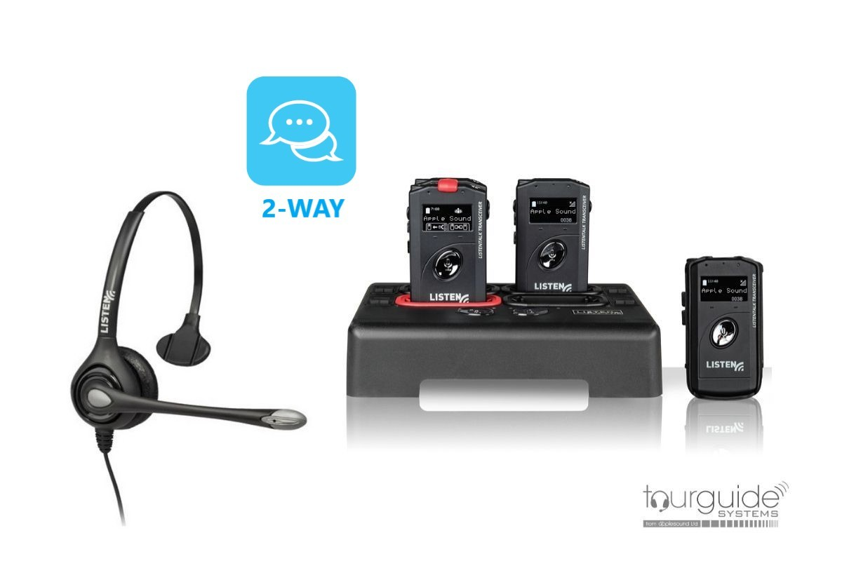 ListenTALK Headset Package for 4 Persons