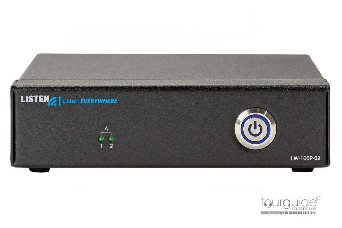 ListenEVERYWHERE LW100P Two Channel Server