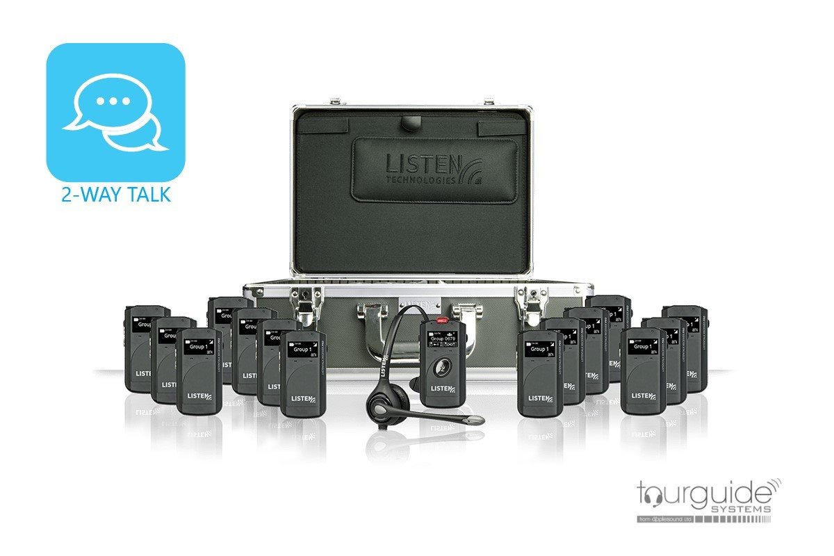 ListenTALK Headset Package for 8 Persons