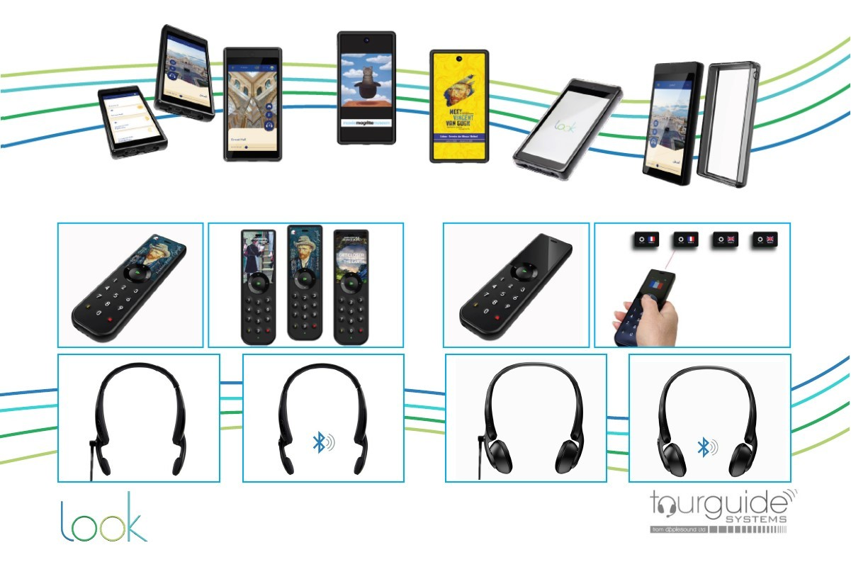 Look! Visitor Audioguides and Multimedia Tablet