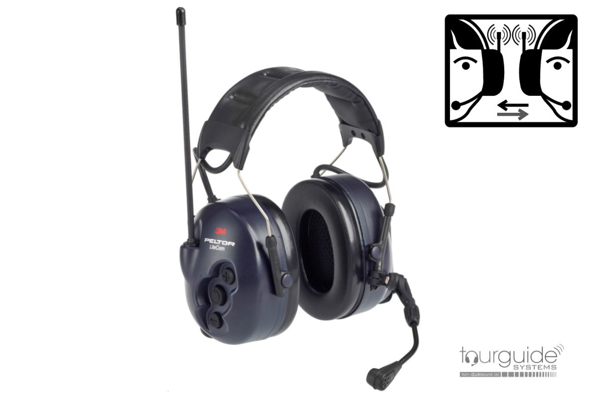 3M PELTOR LiteCom 446 Two-way Headset
