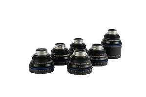 Zeiss Compact Prime Set of 6 PL