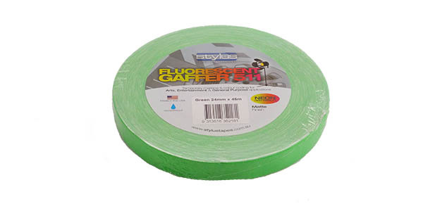 Stylus 511 Fluoro Tape Green 24mm (1