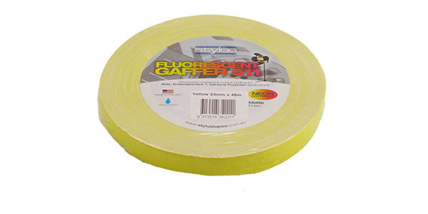 Stylus 511 Fluoro Tape Yellow 24mm (1