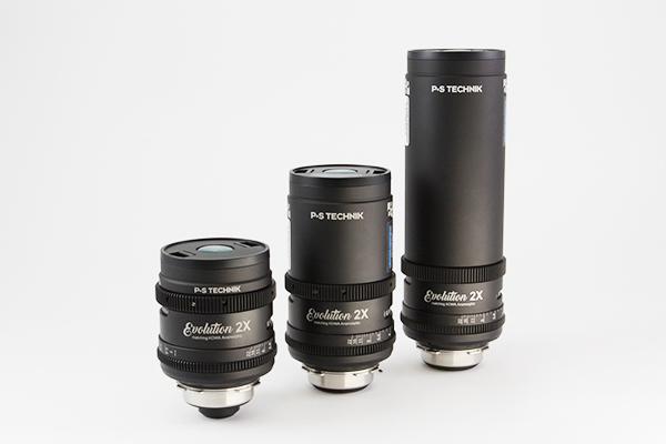 P+S Technik Evolution Kowa 2x Anamorphic Set of 3 PL or EF.  40,75,135mm