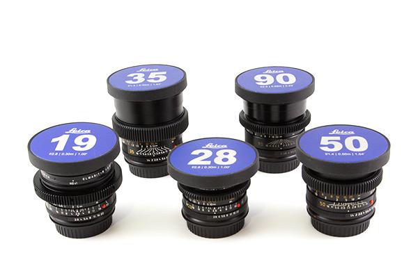 Leica R Lenses EF Mount Kit of 5