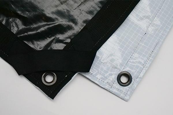 12' x 12' Griffolyn (Black/White) - Textile