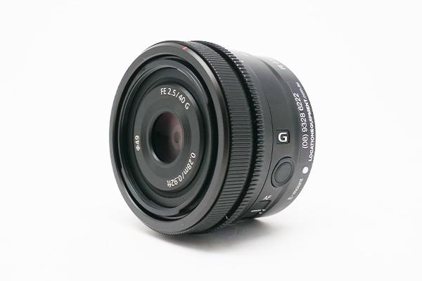 Sony FE 40mm 2.5 (Pancake)