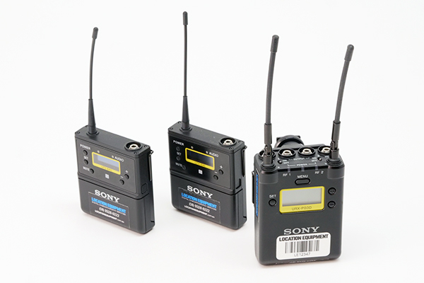 Sony UWP-D (Dual Channel Radio Microphone)