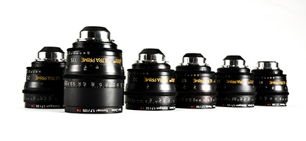 ARRI Ultra Primes Set of 6