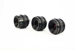 Sony Prime T2.8 Kit of 3