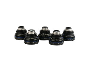 Zeiss Compact Prime Set of 5 PL