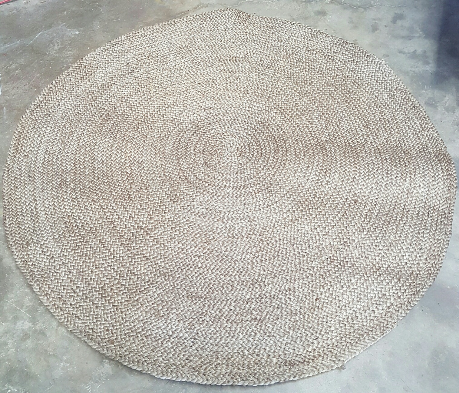 Round jute rug - Splash Events, Noosa & Sunshine Coast