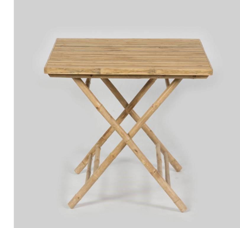 Natural bamboo registry table - Splash Events, Noosa & Sunshine Coast