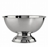 Silver punch bowl - Splash Events, Noosa & Sunshine Coast