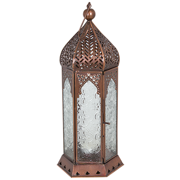Copper moroccan lantern - Splash Events, Noosa & Sunshine Coast