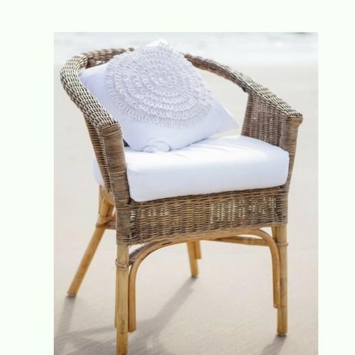 Natural wicker chair - Splash Events, Noosa & Sunshine Coast