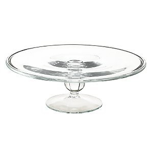 Glass cake stand - 1 tier - Splash Events, Noosa & Sunshine Coast